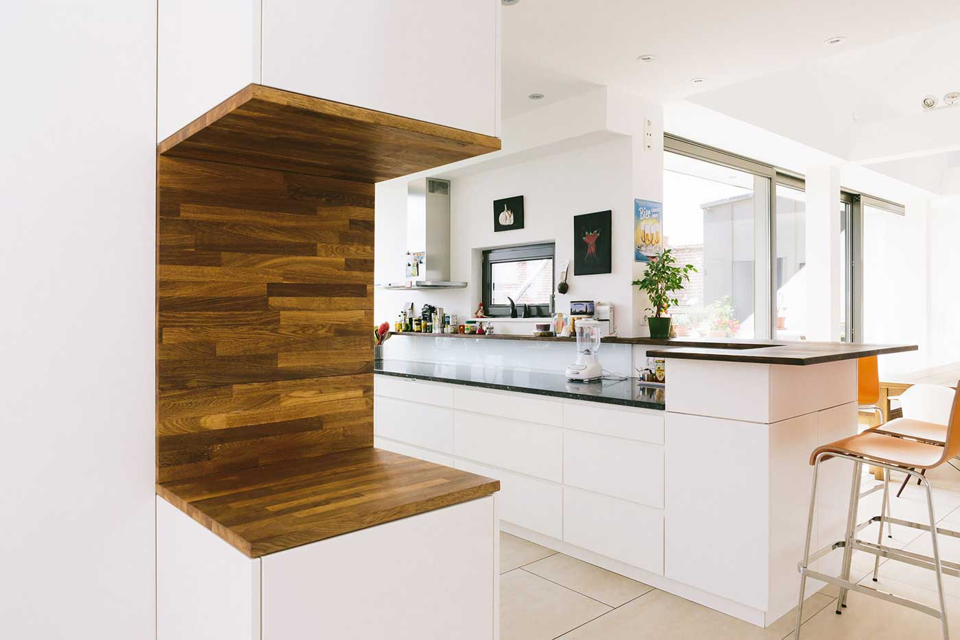 Innenausstattung wohnung  Moderne Wohnung - Fischerplan